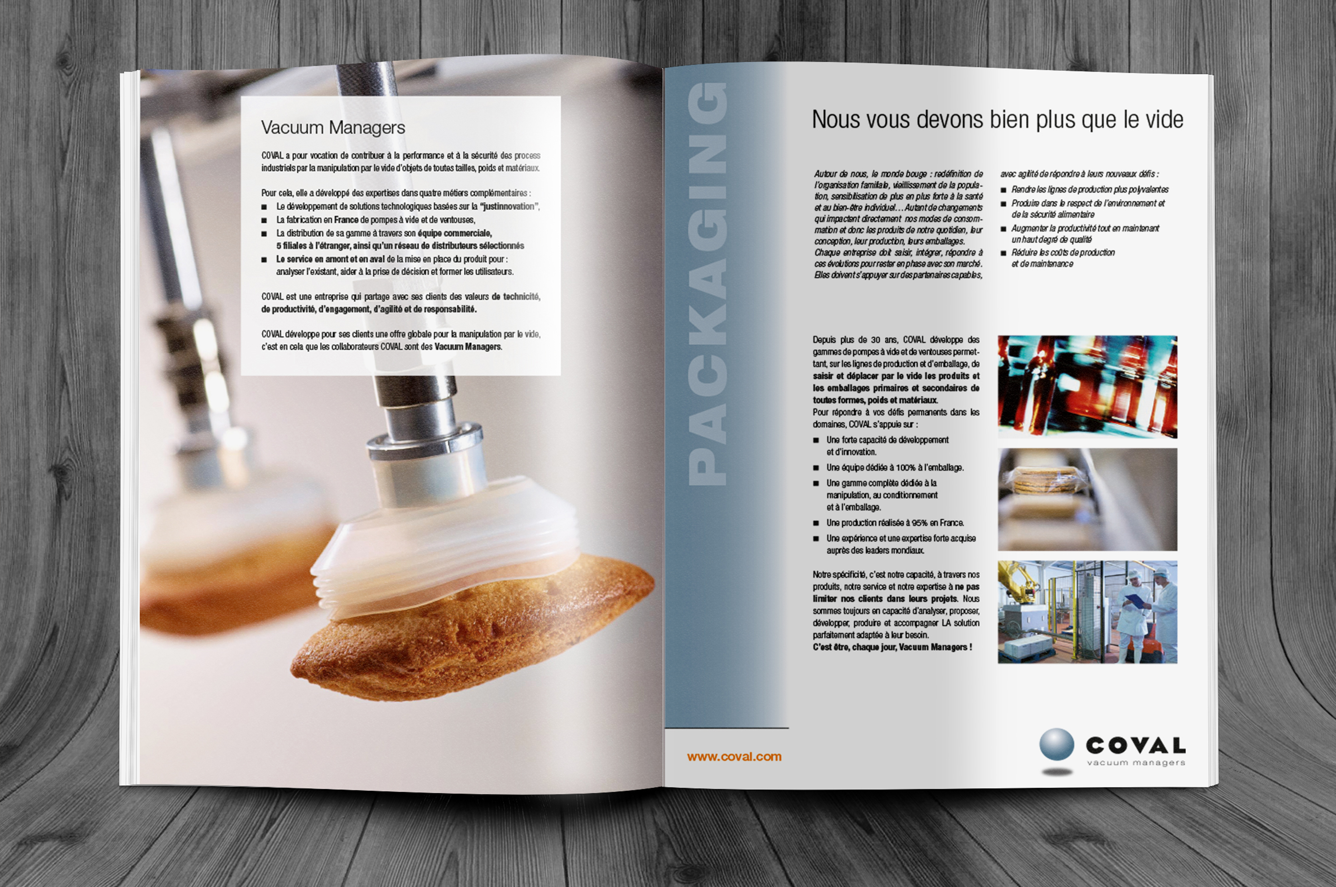 Brochure marché Coval